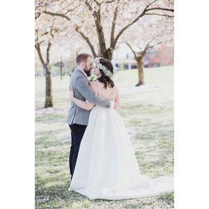 BHLDN Dresses - BHLDN Opaline Dress | Size 12 in Ivory | Worn Once